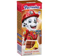 "Молочный коктейль ""Растишка"" 210г шоколад-банан"