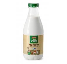 "Молоко ""Село зеленое"" 2.5% 930г"
