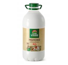 "Молоко ""Село зеленое"" 3.2% 2л"
