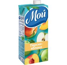 """Сок """"Мой"""" яблоко-персик 0.95л"""