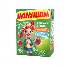 """Нектар """"Малышам"""" 0.2л яблоко-вишня"""