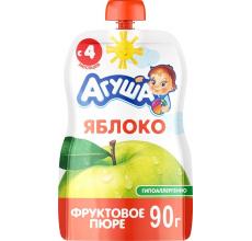 """Фруктовое пюре """"Агуша"""" яблоко 90г"""