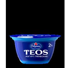 """Йогурт греческий Teos """"Савушкин продукт"""" классический 130г"""