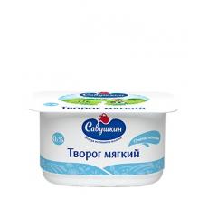"Творог ""Савушкин продукт"" мягкий 0% 125г"