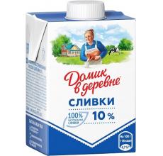 """СЛИВКИ """"ДОМИК В ДЕРЕВНЕ"""" 10% 200Г"""
