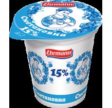 """Сметанный продукт """"Сметановна"""" 15% 375г"""