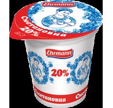"""Сметанный продукт """"Сметановна"""" 20% 375г"""