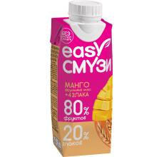 Коктейль Easy Cмузи манго+злаки 0.25л