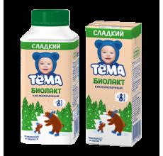 """Биолакт """"Тема"""" сладкий 206г"""