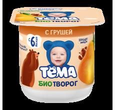 """Биотворог """"Тема"""" груша 100г"""