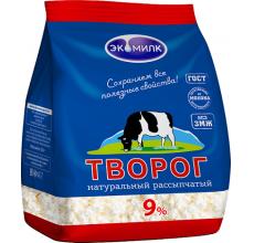 """Творог рассыпчатый """"Экомилк"""" 9% 350г"""