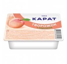 """Продукт творожный """"Творожок"""" персик 230г"""