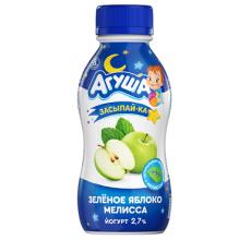 """Йогурт """"Агуша Засыпайка"""" яблоко-мелисса 200г"""