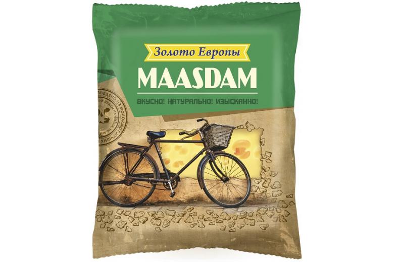 """Сыр """"Золото Европы"""" маасдам 240г"""